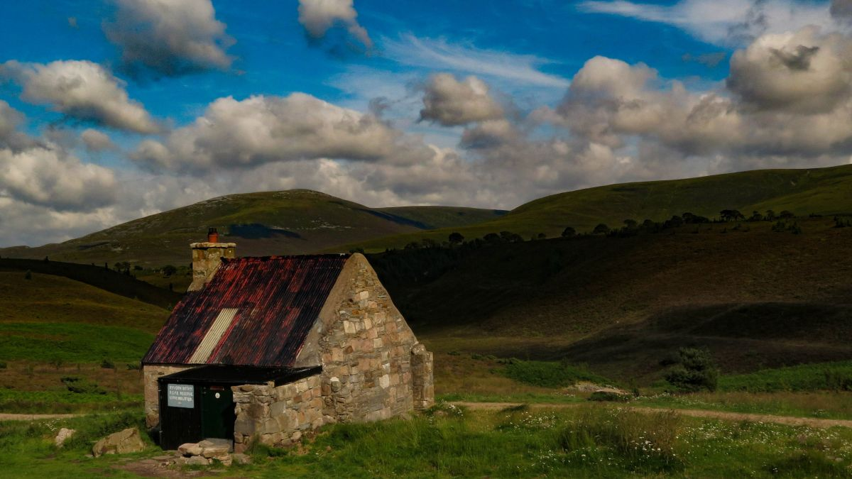 Bothies: the remote shelters scattered across the remarkable mountain landscapes of the Scottish Highlands