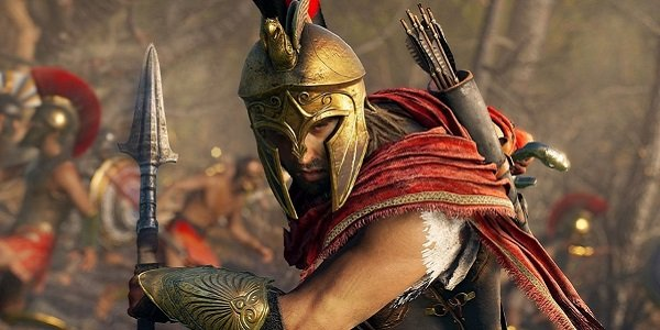 The male protagonist in Assassin's Creed Odyssey.
