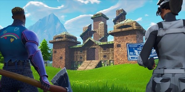 Fortnite's Playground mode.