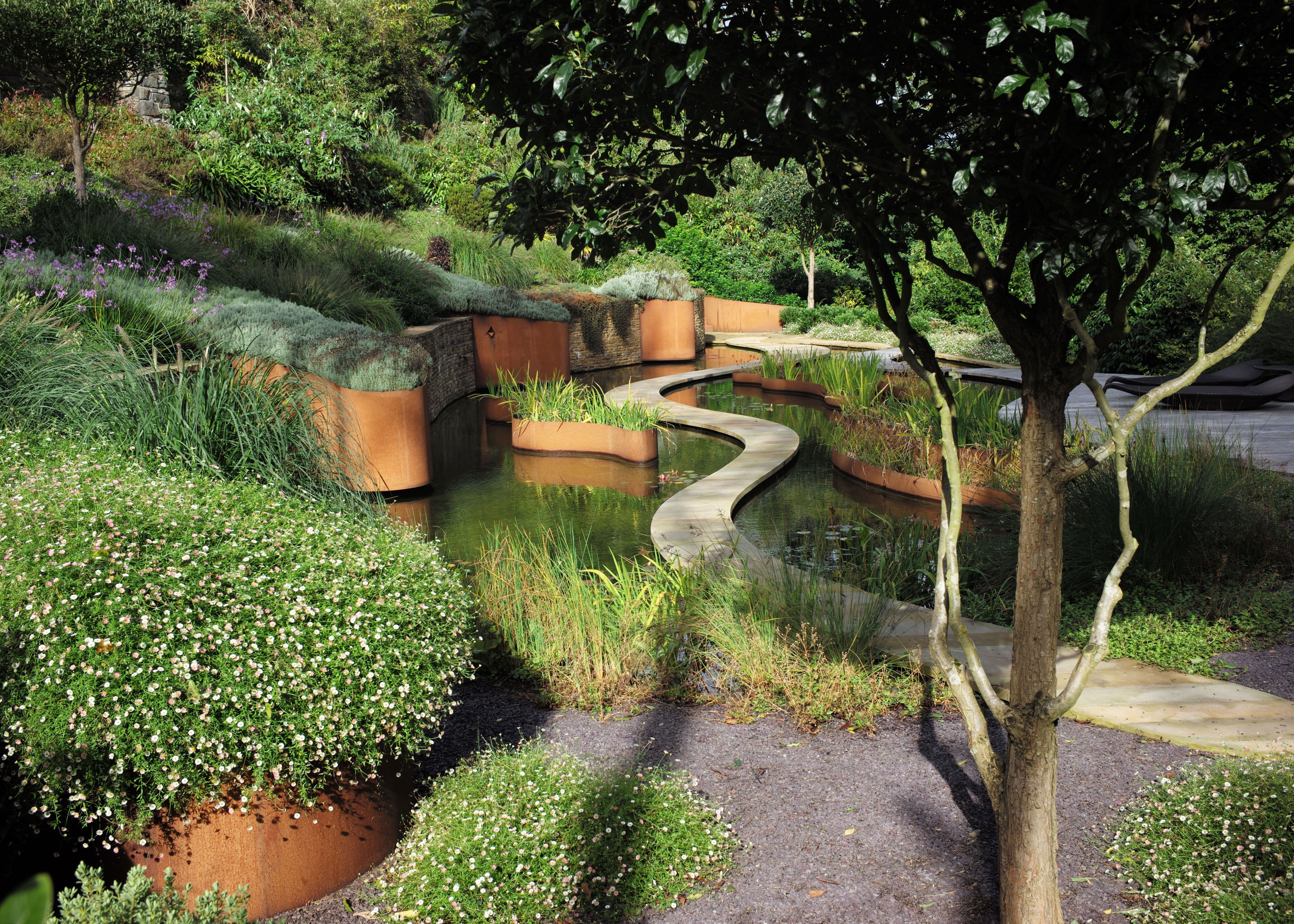 Ideas for sloping backyards