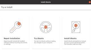 Mockup of the new Ubuntu installer