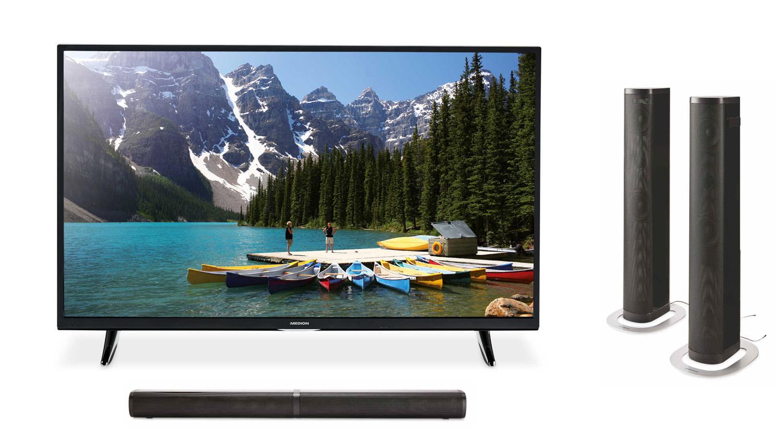Aldi offers super-budget soundbar and 4K TV deal as part of