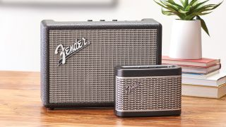 a press shot of the fender speakers