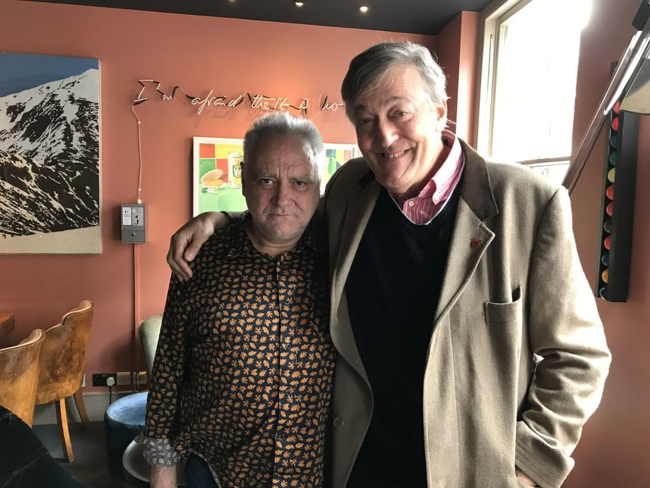 TV tonight What's the Matter With Tony Slattery?