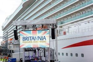XL Video Shows Cruise Ship Christening