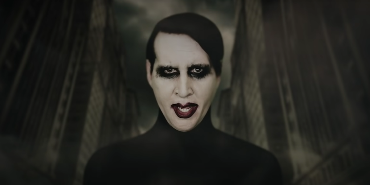 marilyn manson we are chaos music video