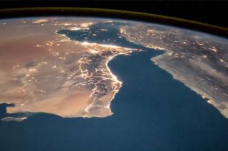 ESA astronaut Paolo Nespoli captured imagery of Somalia and the surrounding region from the International Space Station.