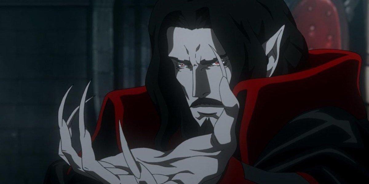 Dracula on Castlevania