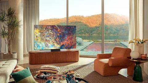Samsung QN900A Neo QLED 8K TV: image shows Samsung QN900A Neo QLED 8K TV