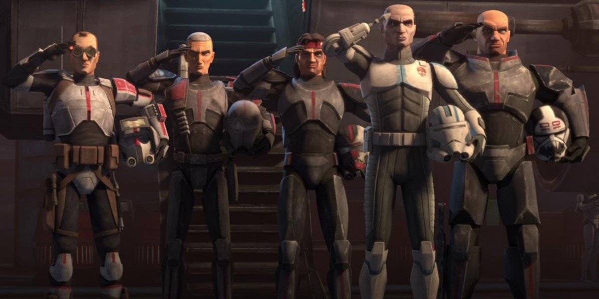 Clone Force 99 on Star Wars: The Clone Wars (2020)