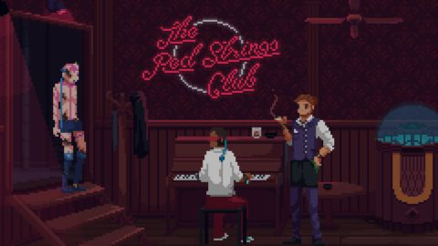 The Red Strings Club Review Pc Gamer