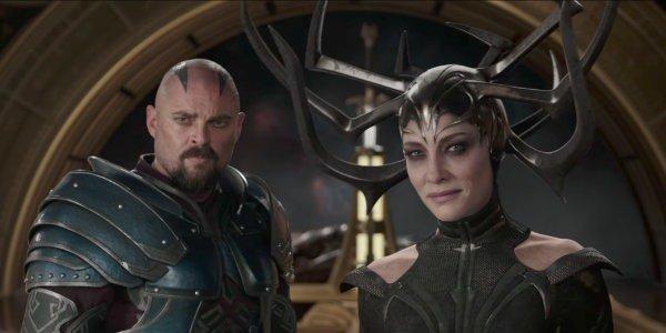 Thor: Ragnarok Cate Blanchett hela Karl Urban Skurge