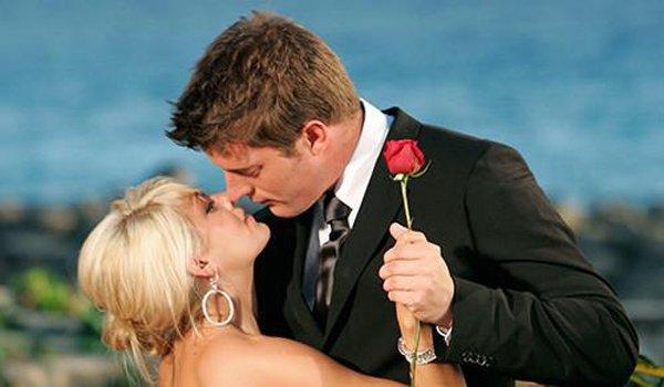 The Bachelor Shayne Lamas and Matt Grant finale rose