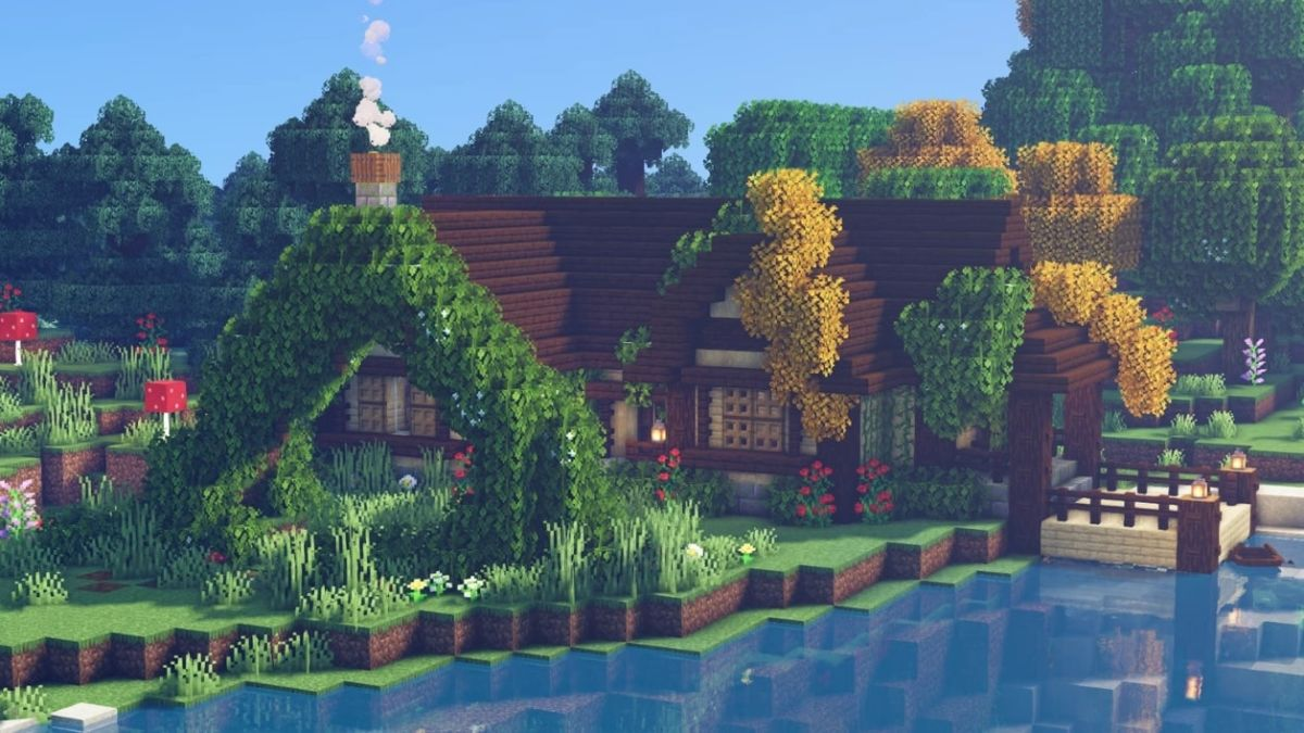 These Minecraft Cottagecore Builds Will Take You To A New Level Of Relaxation Pc Gamer