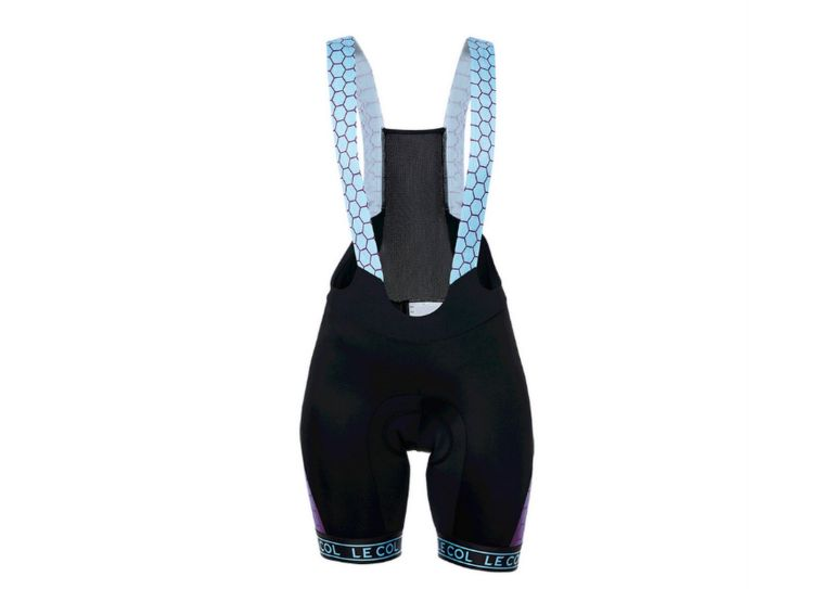 Le Col women's HC sky blue hex bib shorts