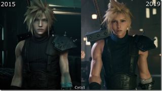 Final Fantasy 7 remake comparison video shows just how much