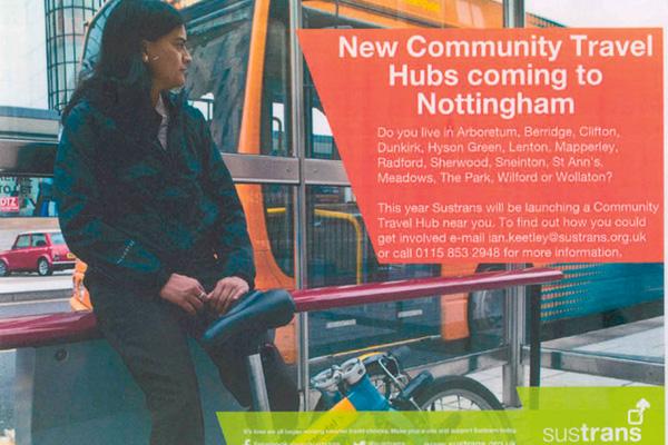 Community Travel Hubs Nottingham Ad