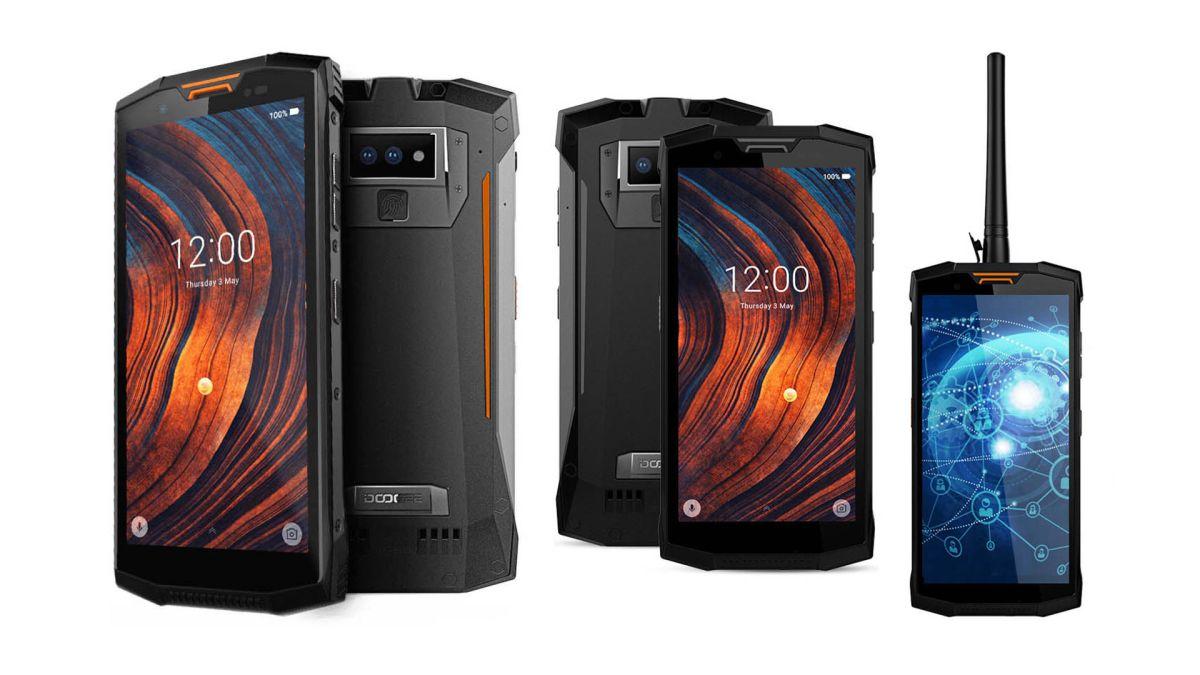 Dooge S80 rugged smartphone