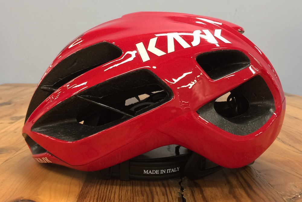 Kask Valegro Road Helmet Red Large 59-62cm