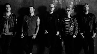 A promotional picture of Avenged Sevenfold