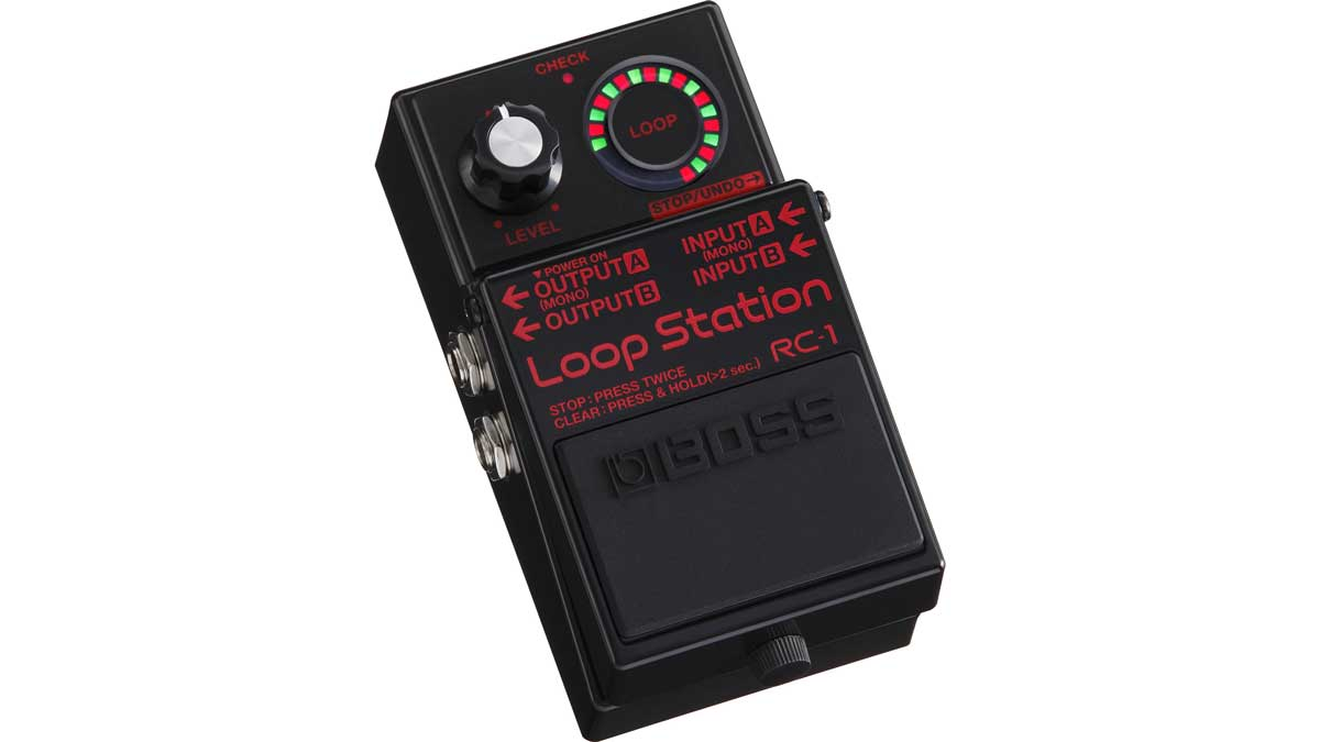 US Cyber Monday guitar deal: Loop for less with a Boss RC-1 Loop Station for just $69