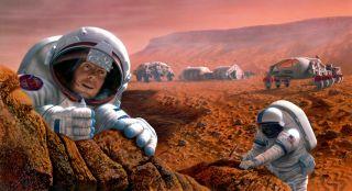 Future Mars settlers