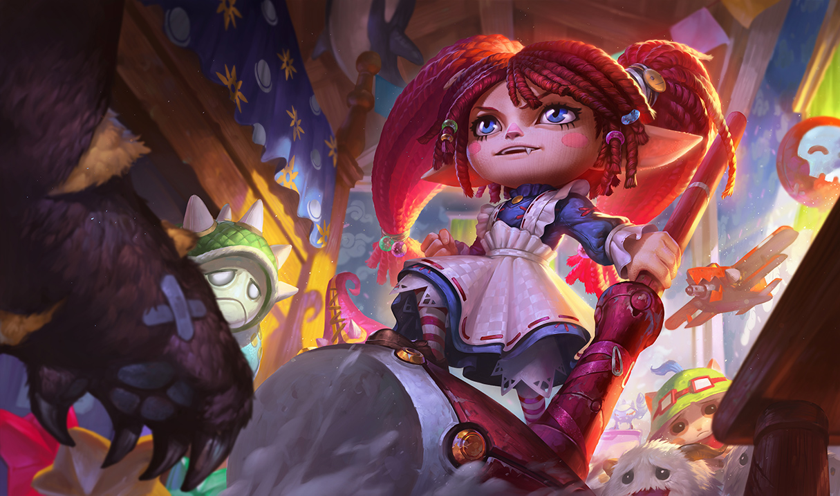 League Of Legends' Long-Overdue Rework For Poppy Looks Awesome #35067