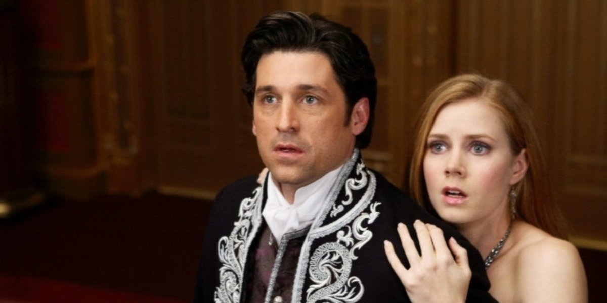 Patrick Dempsey and Amy Adams in Enchanted