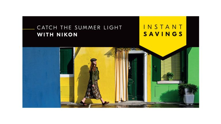 Nikon's summer sale slashes over £350 off DSLRs, mirrorless kits and lenses