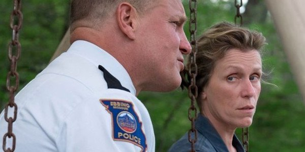 Woody Harrelson and Frances McDormand