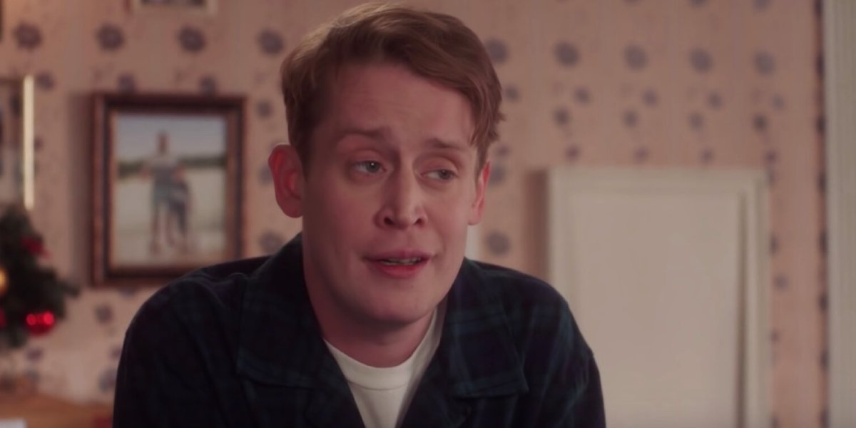 Macaulay Culking in a Home Alone-inspired Google ad