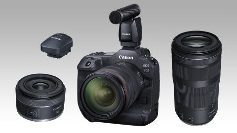 Canon announces Canon EOS R3 plus 2 new RF lenses and 4 new accessories