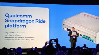 Qualcomm presents Snapdragon Ride at CES 2020