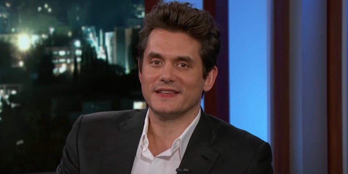John Mayer is a guest on Jimmy Kimmel Live! (2018)