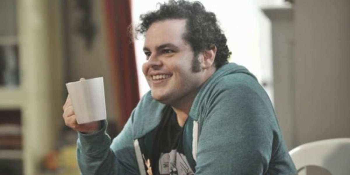 Josh Gad as Kenneth in the Dunphy house in Modern Family.