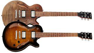 Harley Benton Aeolus single-cut semi-hollow electric guitar