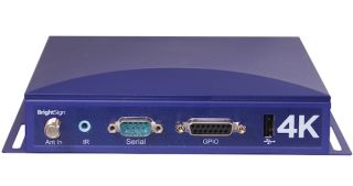 BrightSign 4K Digital Signage Media Player Delivers Native 4K H.265 Playback at 60 fps