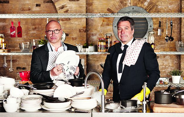 After four weeks of heats, only the best 14 remain to face 'Knockout Week.' In the first of two episodes tonight of MasterChef, the foodie 14 are split into two groups, blue and red.