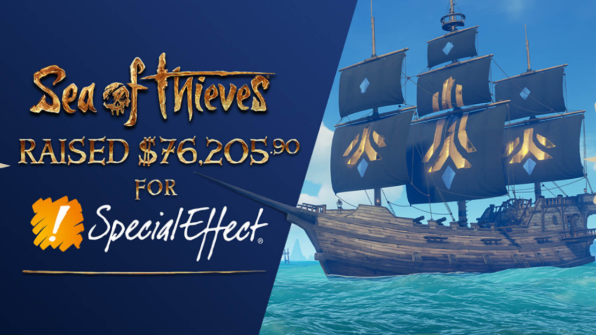 Sea of Thieves players contribute $76,000 to charity by purchasing in-game sails