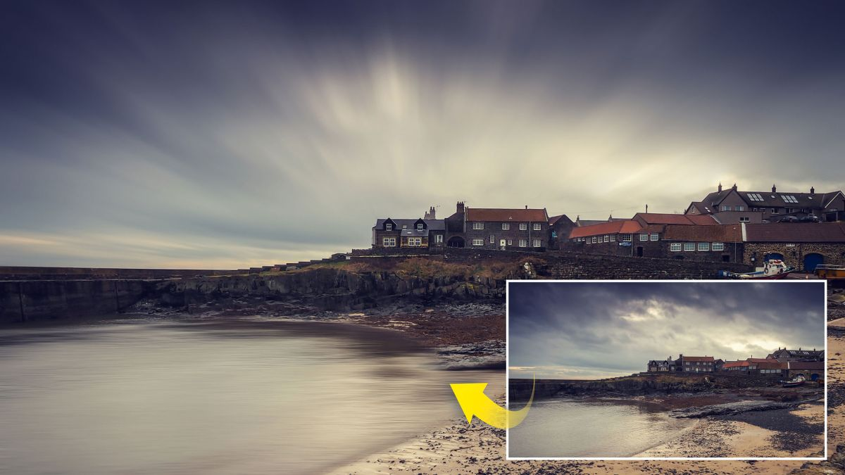 Forget ND filters! Blur skies for easy long exposures in Photoshop Elements