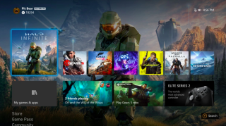 Here's what the Xbox Series X interface will look like