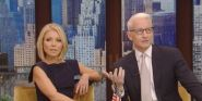 Why Anderson Cooper Won't Be Live With Kelly's New Co-Host