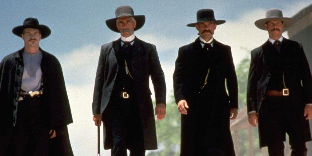 Val Kilmer, Sam Elliott, Kurt Russell, Bill Paxton - Tombstone