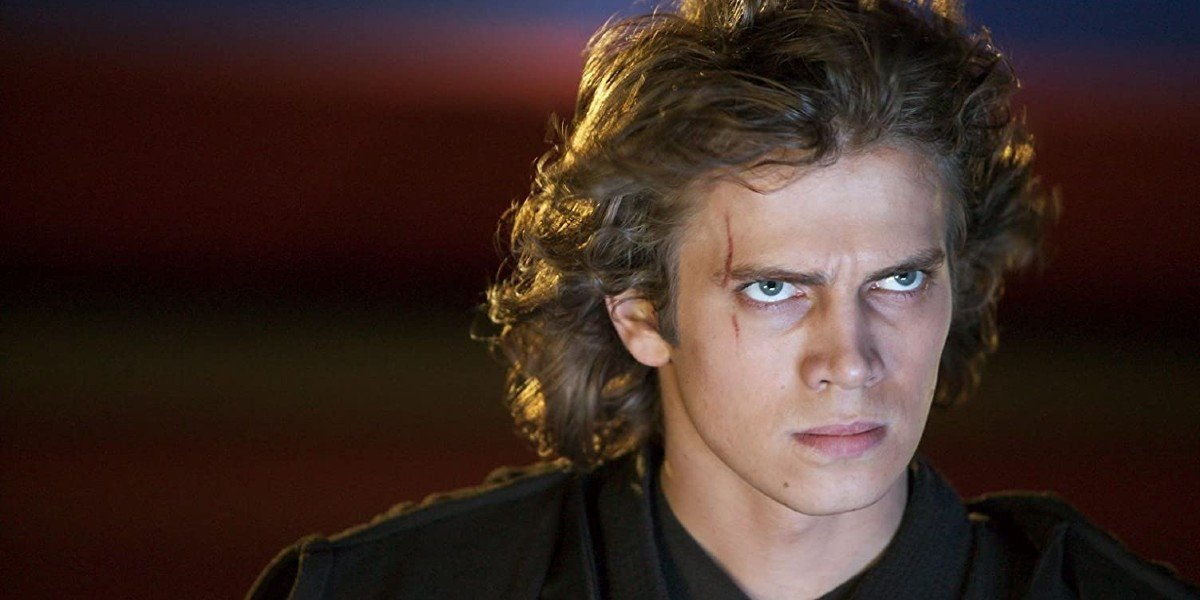 Hayden Christiansen in Star Wars: Revenge of the Sith