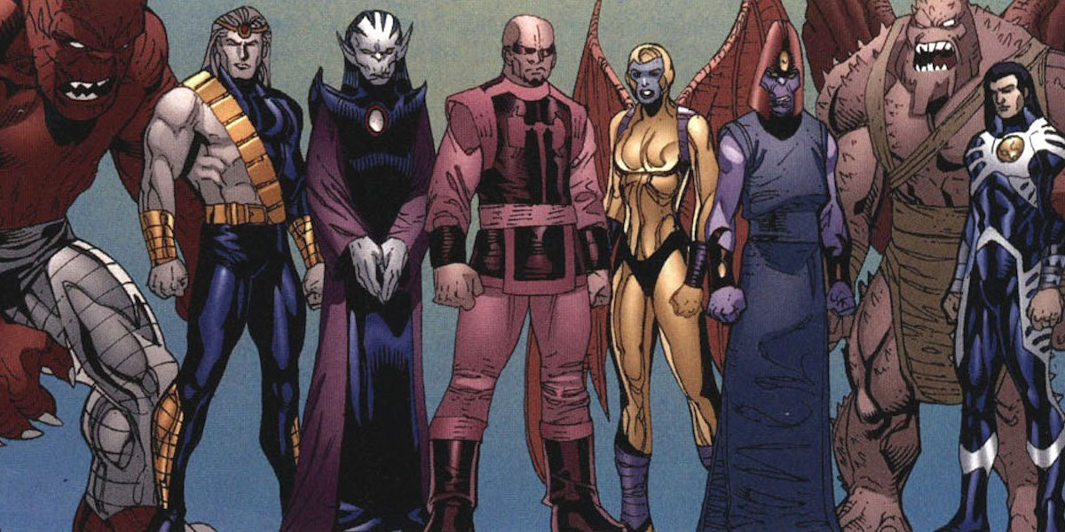 The Deviants dari Marvel