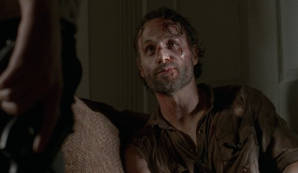 rick and michonne relationship season 5