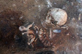 Vertical burial