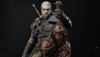Witcher 3 Geralt of Rivia statue