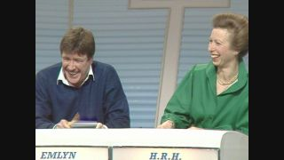 Emlyn Hughes and Princess Anne A Question of Sport at 50
