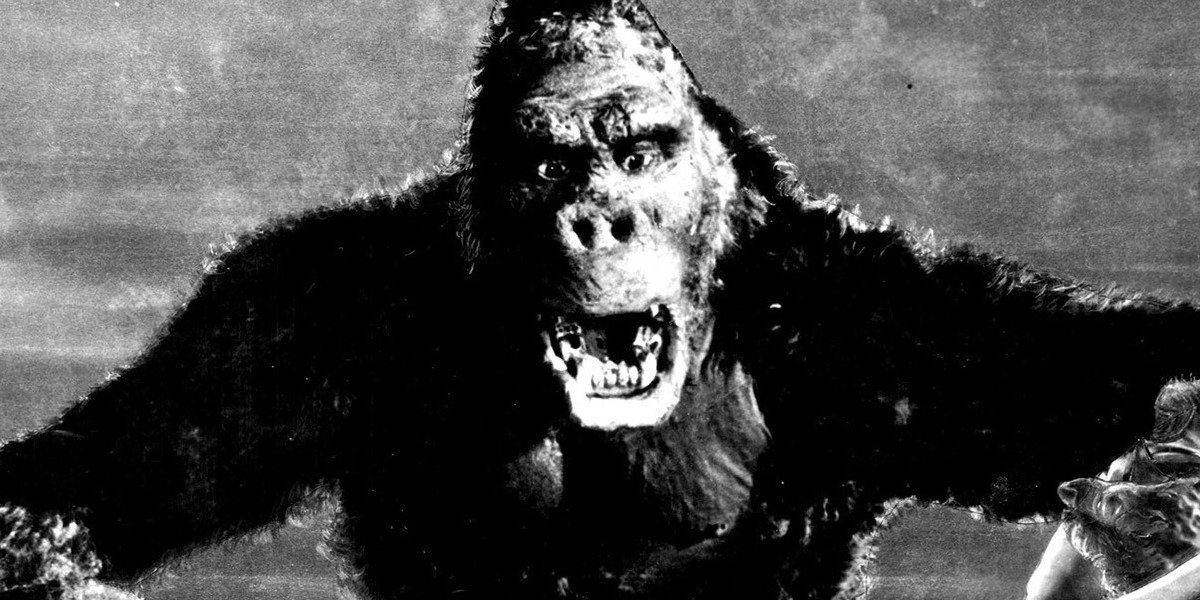 king kong black and white